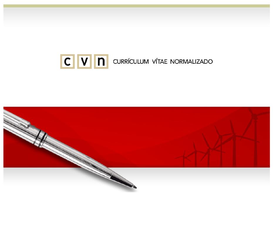 curriculum vitae en formato normalizado cvn