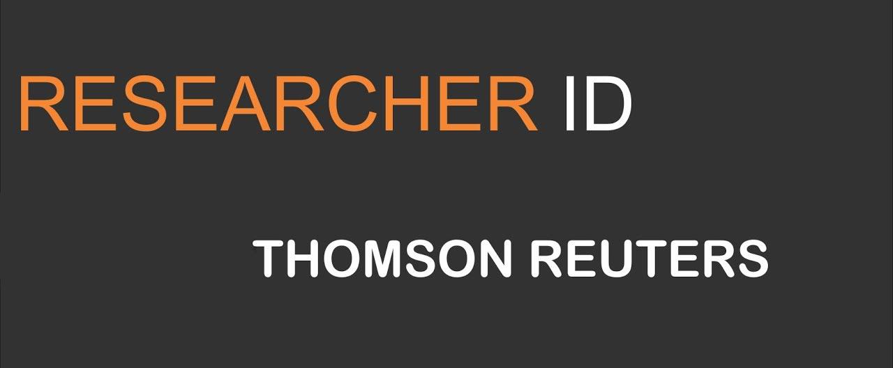 Resultado de imagen de Researcher ID
